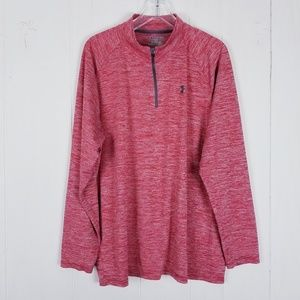 Under Armour Heat Gear 1/4 Zip Pullover Size 2XL